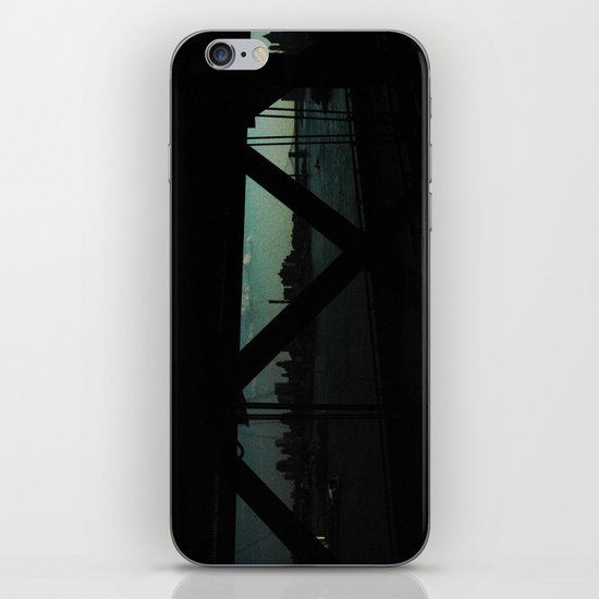dark bridge nyc iPhone & iPod Skin