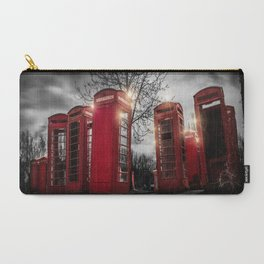 Red Phone Box - Art 1 Carry-All Pouch