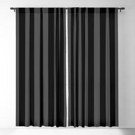 Large Two Tone Black Cabana Tent Stripe Blackout Curtain