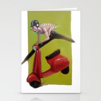 moto Stationery Cards featuring MOTO by XA-BCN