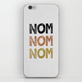 Nom Nom Nom iPhone Skin