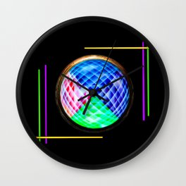 Abstract in perfection 10 Wall Clock