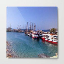 Israeli Dock Metal Print