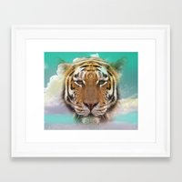pride Framed Art Prints featuring Pride by Vin Zzep