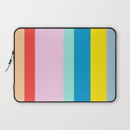the color of summer stripes Laptop Sleeve