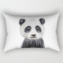 little panda Rectangular Pillow