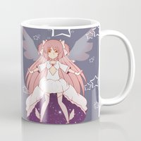 madoka Mugs featuring Goddess Madoka by Nozubozu