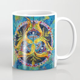 Pond Mandala Coffee Mug