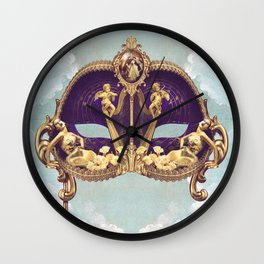 Floral Extravagance Wall Clock