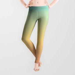 Tricolor Gradient. Leggings