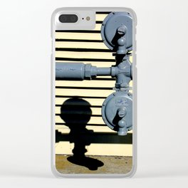 Shadow Fold Clear iPhone Case
