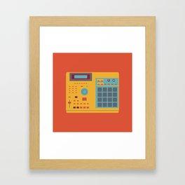World of Stereo: Akai MPC 2000XL Framed Art Print