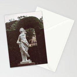 Elegant Renaissance White Marble Statue Photography Stationery Cards