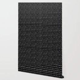 Nordic Runes // Black Wallpaper