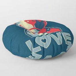 Pitbull - Love Floor Pillow