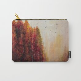 Forgotten Acrylic Autumn Painting Carry-All Pouch