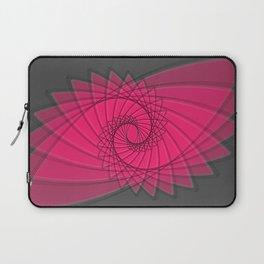 hypnotized - fluid geometrical eye shape Laptop Sleeve