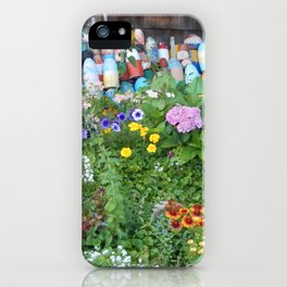 Garden Of Buoys iPhone Case