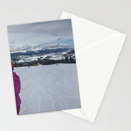 Keystone Mountain Panorama Stationery Cards