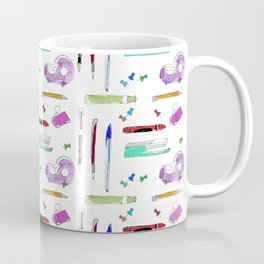 Stationery and pens Coffee Mug