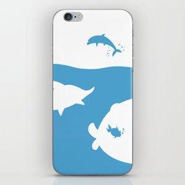 Save the world iPhone Skin