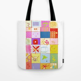 SUMMER QUILT Tote Bag