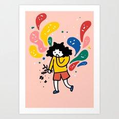oh Art Print
