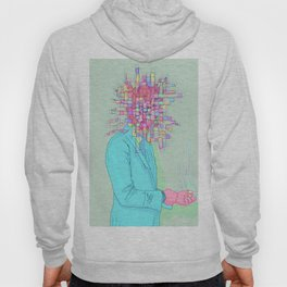 Psychedelic face Hoody