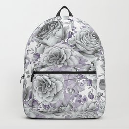 FLOWERS WATERCOLOR 30 Backpack