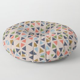 Simple Triangles in Fantastic Output Floor Pillow