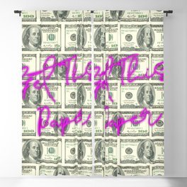 DOLLARS - GET THIS PAPER NEON Blackout Curtain