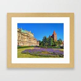 Beautiful Krakow Framed Art Print