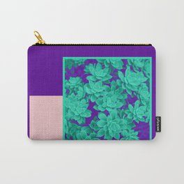 Neon Aeonium #society6 #succulent Carry-All Pouch