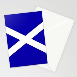 Scottish Flag Stationery Cards