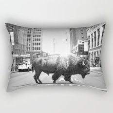 STREET WALKER Rectangular Pillow