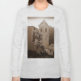 High Noon Riomaggiori Sepia Long Sleeve T-shirt