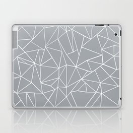 Abstraction Outline Grey Laptop & iPad Skin