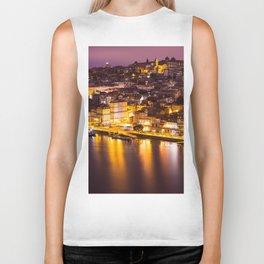 Old town Porto Portugal Biker Tank