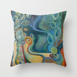 Merlin Throw Pillow