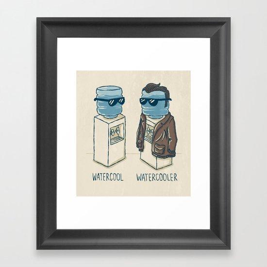 Watercool Framed Art Print