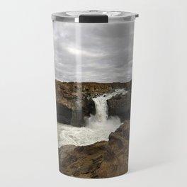 Aldeyjarfoss. Travel Mug
