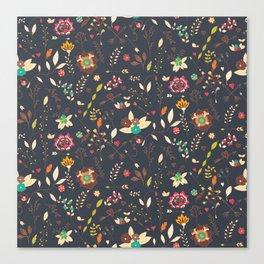 Flower pattern 02 Canvas Print