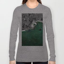 Par Docks Map 2012 Long Sleeve T-shirt