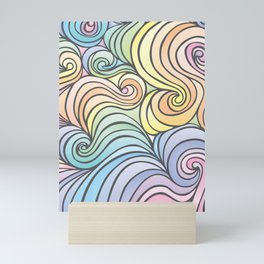 The Swirly Whirly Mini Art Print