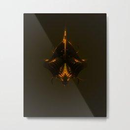 King Dark CatFish Metal Print