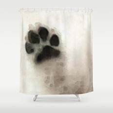 I Paw You - Dog Art By Sharon Cummings Shower Curtain