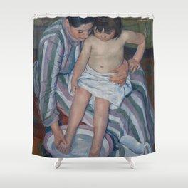 Mary Cassatt - The Child's Bath Shower Curtain