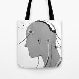 Cybernetic Coma Tote Bag