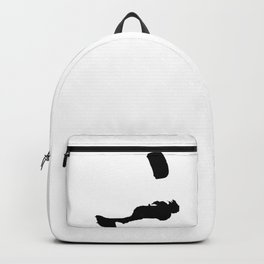 Lets Go Fly A Kite Silhouette Backpack