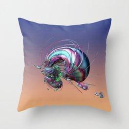 CRÉATURE ÉTRANGE 14 Throw Pillow
